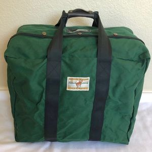 Vintage Eddie Bauer Canvas Duffle Bag